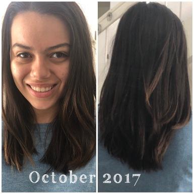 hair journey month 10