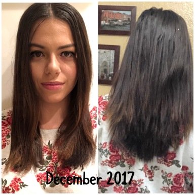 hair journey month 12